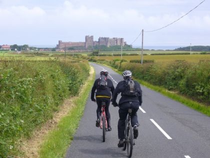 The Coast & Castles Cycle Route (NCN Route 1)